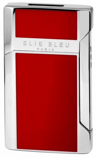 kompaktes JET FLAME-Feuerzeug mit rotem Lack