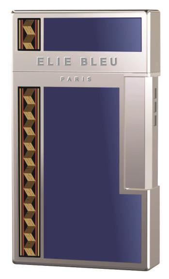 CIGARS JET-FLAME lighter with BLUE lacquer