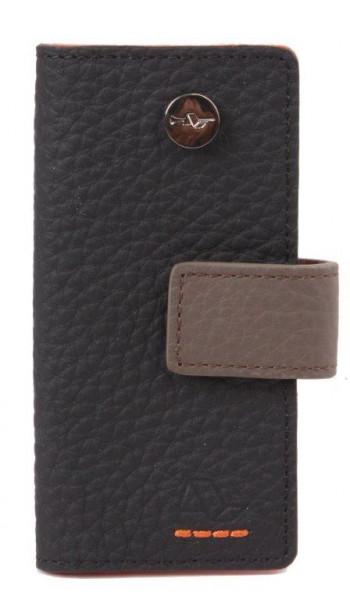 eleganter und kompakter Schlüsselbund aus Leder