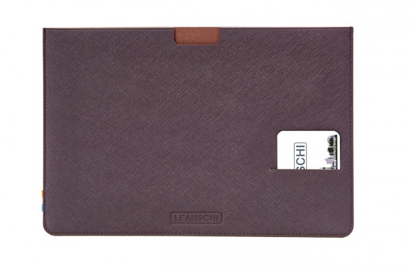 I-PAD pro sleeve in leather
