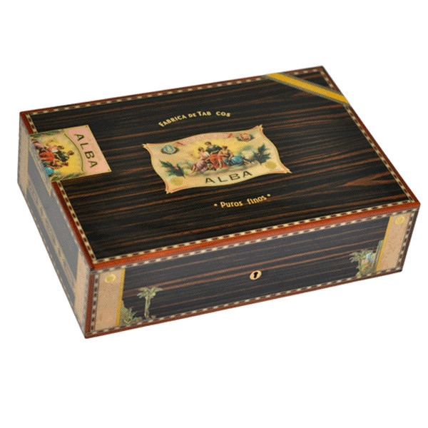Cigars humidors 75 from Elie Bleu in Macassar Ebony