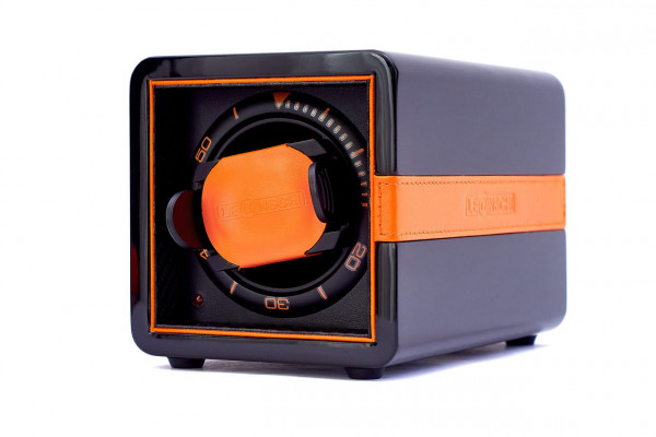 WS01 | Watchwinder BLACK & ORANGE