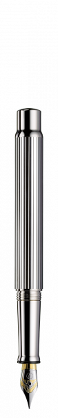 Füllfeder Halter aus Sterling Silber, 18Kt Goldfeder