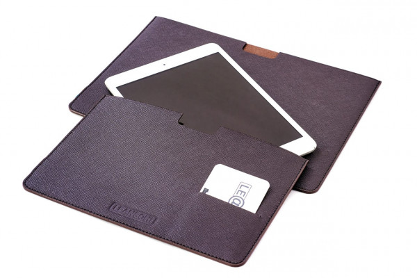 I-PAD sleeves in leather