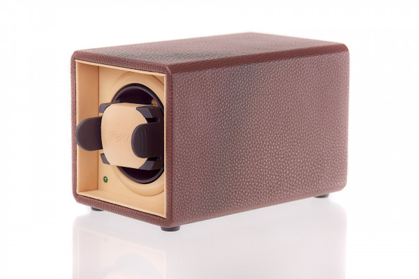 WS01 | Watchwinder single in chocolate BROWN