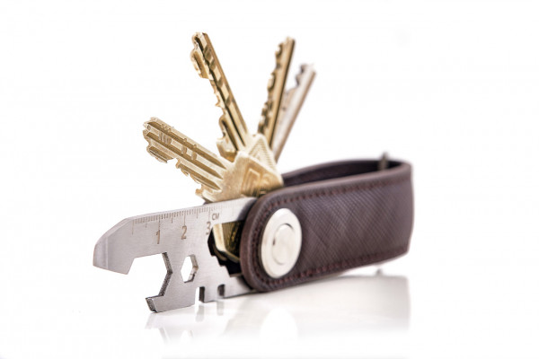 """KEY-ONE"": PORTE-CLEFS smart et compact"