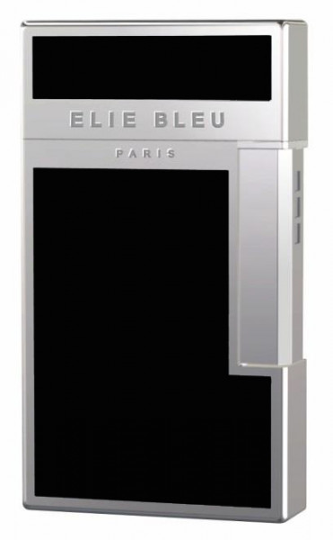 Briquet JET-FLAME pour cigares, lacqué noir, paladium-finish