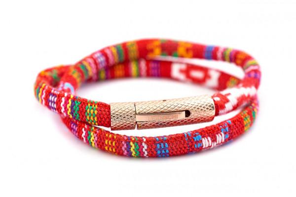 MC Rope Bänder aus farbenfroher Baumwolle